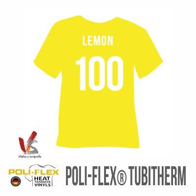 100 AMARILLO LIMÓN POLIFLEX TUBITHERM