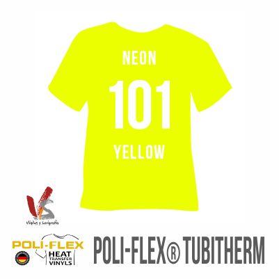 110 AMARILLO NEÓN POLIFLEX TUBITHERM