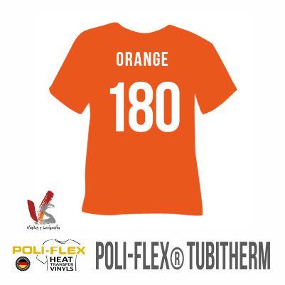 180 NARANJA POLIFLEX TUBITHERM