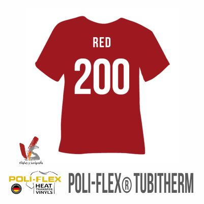 200 ROJO POLIFLEX TUBITHERM