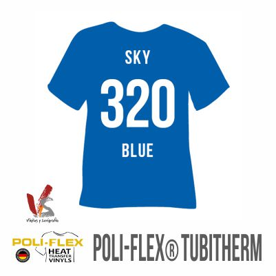320 AZUL CIELO POLIFLEX TUBITHERM