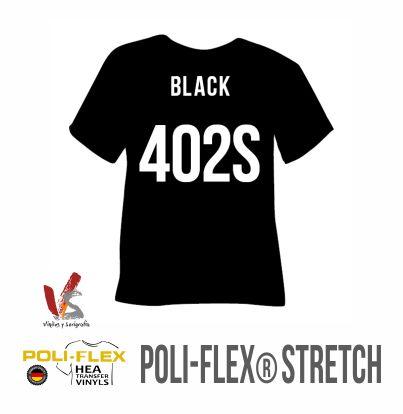 402S NEGRO POLIFLEX STRETCH