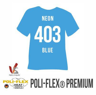 403 AZUL NEON POLIFLEX PREMIUM