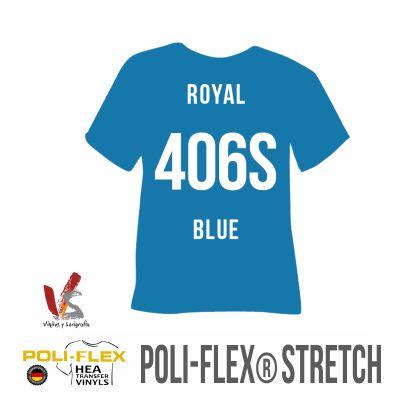 406S AZUL POLIFLEX STRETCH