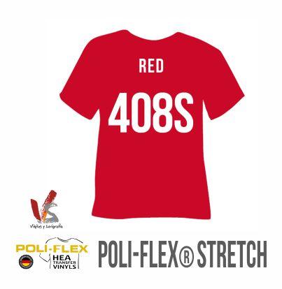 408S ROJO POLIFLEX STRETCH