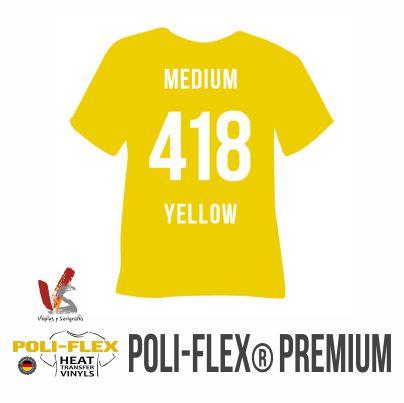 418 AMARILLO MEDIO POLIFLEX PREMIUM