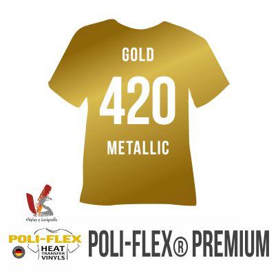 420 ORO METÁLICO POLIFLEX PREMIUM