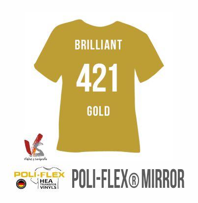 421 ORO BRILLANTE POLIFLEX MIRROR - IMAGE
