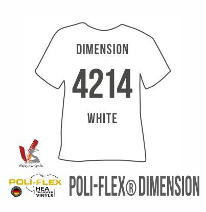 4214 BLANCO POLIFLEX DIMENSION