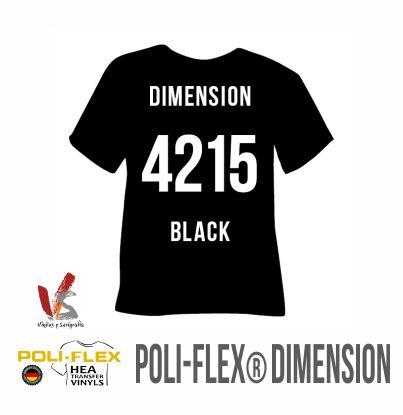 4215 NEGRO POLIFLEX DIMENSION