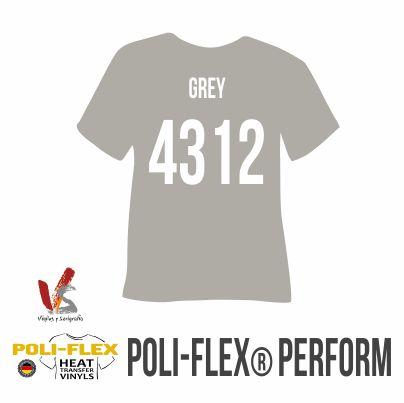 4312 GREY POLIFLEX PERFORM