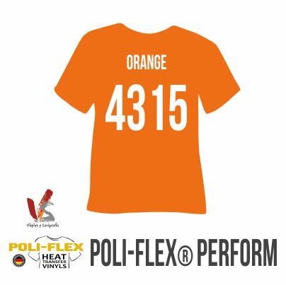 4315 NARANJA POLIFLEX PERFORM