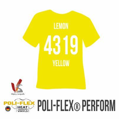4319 AMARILLO LIMÓN POLIFLEX PERFORM
