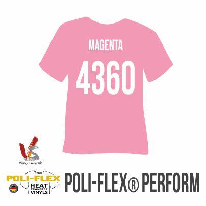 4360 MAGENTA POLIFLEX PERFORM