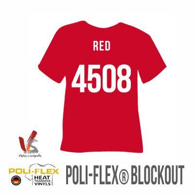 4508 ROJO POLIFLEX BLOCKOUT