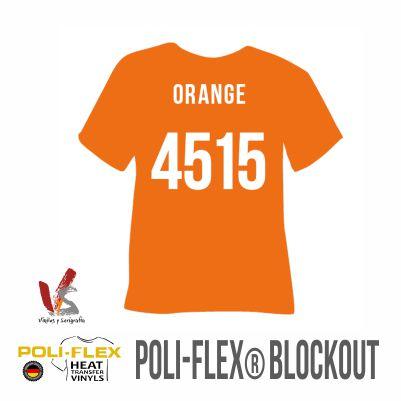 4515 NARANJA POLIFLEX BLOCKOUT