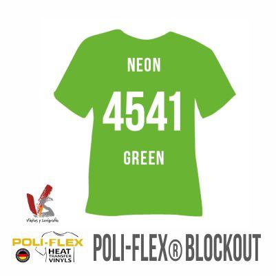 4541 VERDE NEÓN POLIFLEX BLOCKOUT