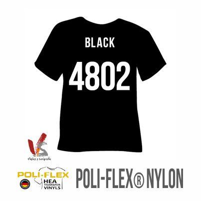 4802 NEGRO POLIFLEX NYLON