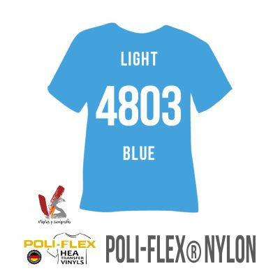 4803 AZUL CLARO POLIFLEX NYLON