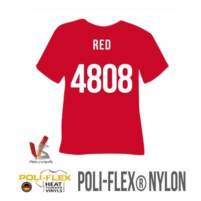 4808 ROJO POLIFLEX NYLON