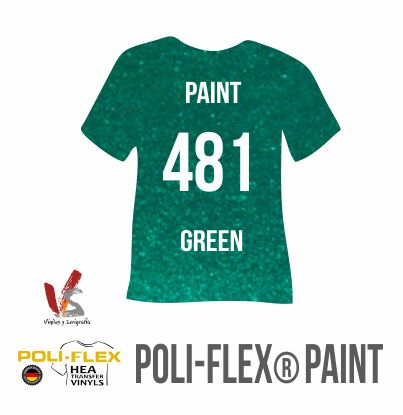 481 VERDE POLIFLEX PAINT