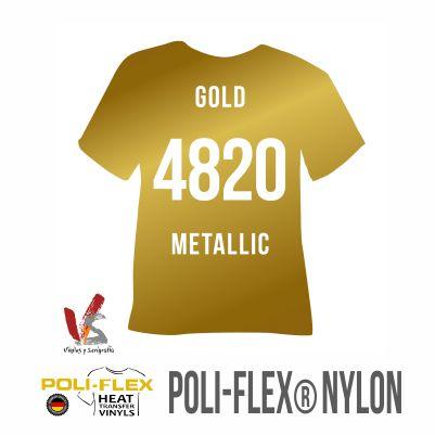 4820 ORO METÁLICO POLIFLEX NYLON