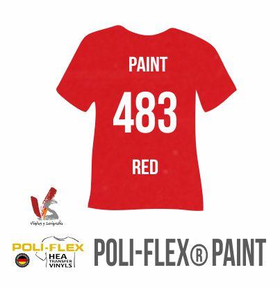 483 ROJO POLIFLEX PAINT