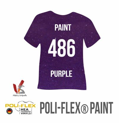 486 PÚRPURA POLIFLEX PAINT