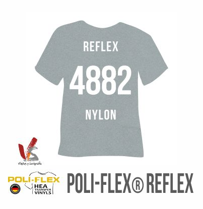 4882 NYLON REFLEX SILVER POLIFLEX