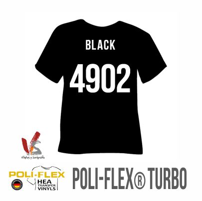 4902 NEGRO POLIFLEX TURBO