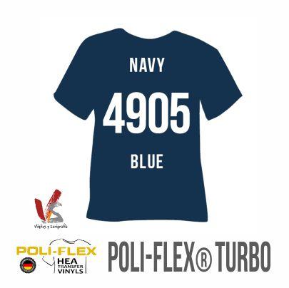 4905 AZUL MARINO POLIFLEX TURBO