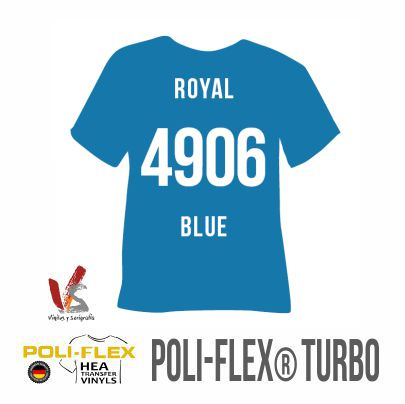 4906 AZUL ROYAL POLIFLEX TURBO
