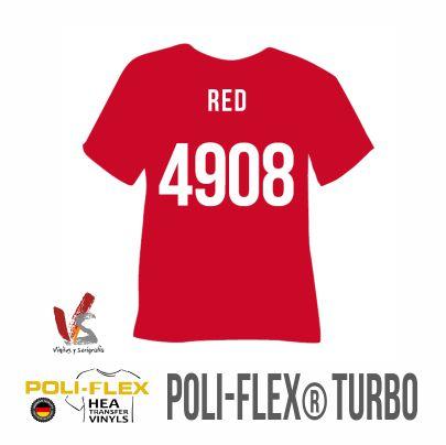 4908 ROJO POLIFLEX TURBO