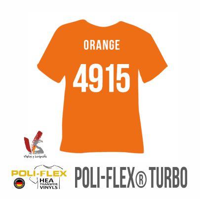 4915 NARANJA POLIFLEX TURBO