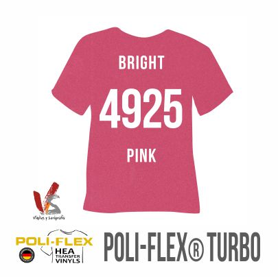 4925 ROSA BRILLANTE POLIFLEX TURBO
