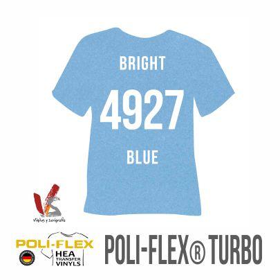 4927 AZUL BRILLANTE POLIFLEX TURBO