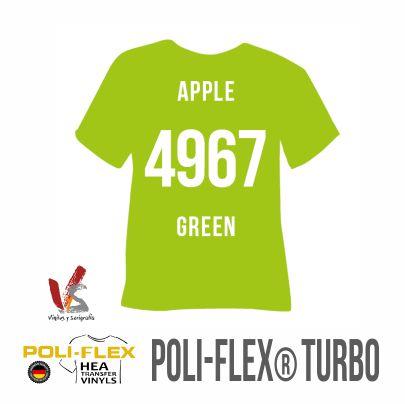 4967 VERDE MANZANA POLIFLEX TURBO