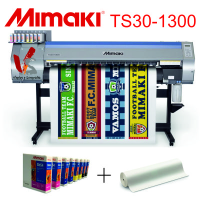 MIMAKI TS30-1300 VINILOS Y SERIGRAFIA