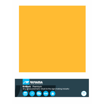 123 Amarillo Dorado Premium - Ancho 122 cm - Vinilos y Serigrafía