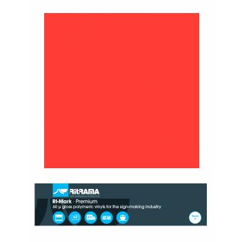 485 Rojo Tomate Premium - Ancho 122 cm - Vinilos y Serigrafía