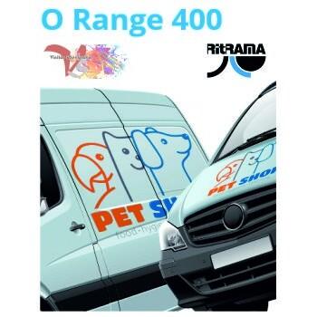 400M Blanco Mate O Range 400 - Ancho 63 cm - Vinilos y Serigrafía