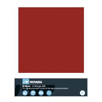 436 Rojo Vino O Range 400 - Ancho 63 cm - Vinilos y Serigrafía