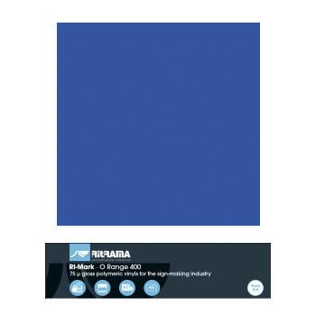 468 Azul Vivo O Range 400 - Ancho 63 cm - Vinilos y Serigrafía
