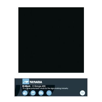 401 Negro O Range 400 - Ancho 63 cm - Vinilos y Serigrafía