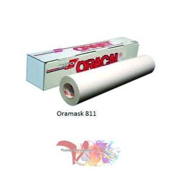 Oramask 811 Película Plantilla Blanca - Ancho 63 cm - Vinilos y Serigrafía