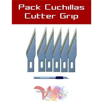 Cuchillas Cutter Grip - Vinilos y Serigrafía
