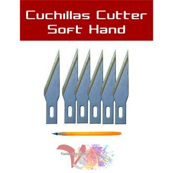 Cuchillas Soft Hand - Vinilos y Serigrafía