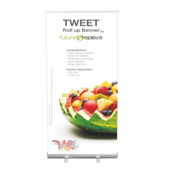 Roll Up Tweet - Ancho 850 mm - Vinilos y Serigrafía
