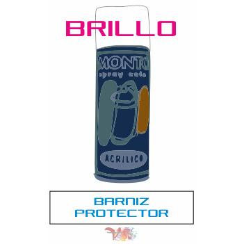 """Spray Barniz """"Monto"""" Brillo - Vinilos y Serigrafía"""