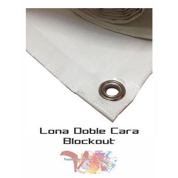Lona Doble Cara 610 gr. - Ancho 105 cm - Vinilos y Serigrafía